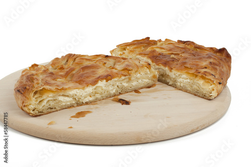 ham and cheese pie