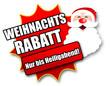 """Siegel """"Weihnachtsrabatt - Nur bis Heiligabend!"""""""