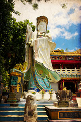 Statue of Guanyin goddess in Repulse Bay - Hong Kong