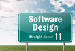 "Highway Signpost ""Software Design"""