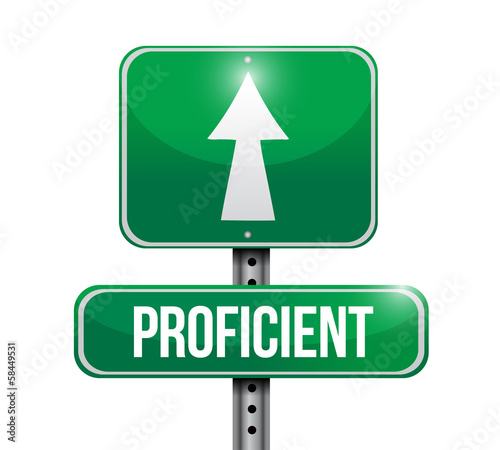 proficient road sign illustration design