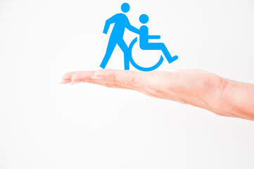 Helping handicapped persons