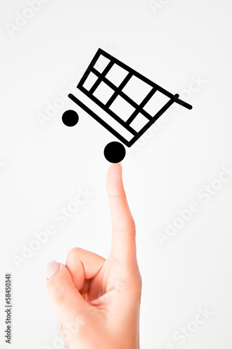Shopping basket concept