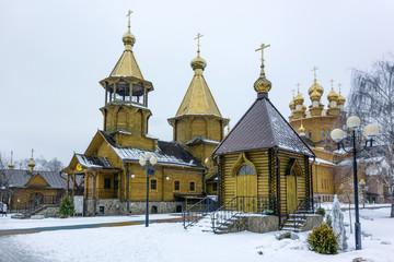 Храм Великомученика Георгия Победоносца в городе Белгород
