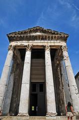Pola, tempio di Augusto
