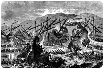 Ancient Greece : Naval Battle