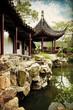 Chinese traditional garden - Suzhou - China
