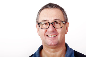 Portrait of middle aged men