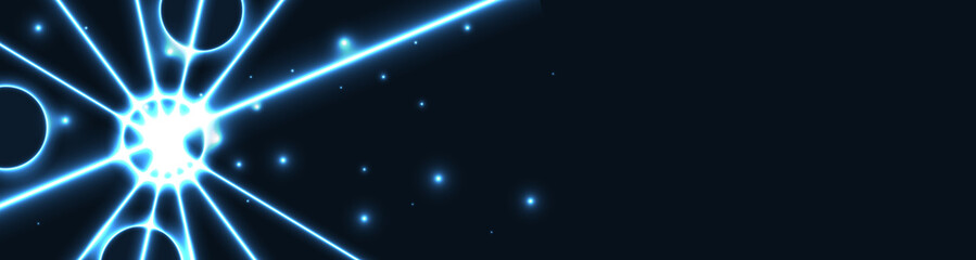 The blue star web banner