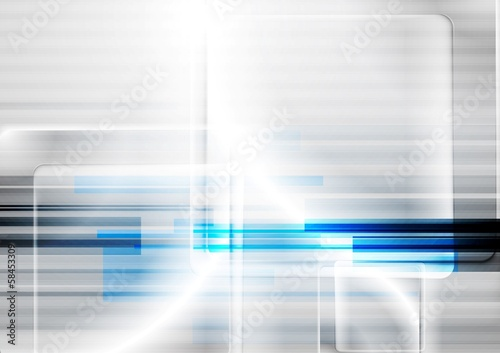 Bright vector hi-tech design