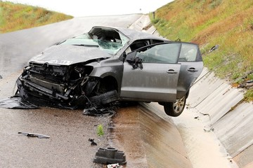 Car Accident and Wreckage