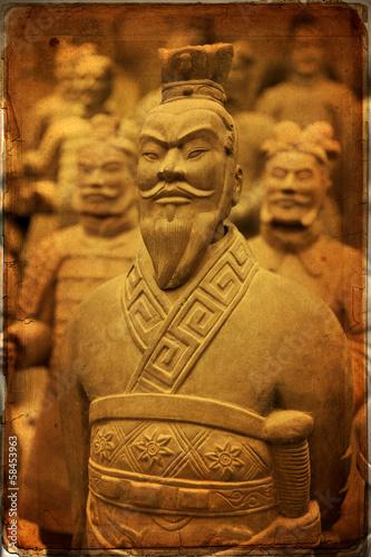 Deurstickers Xian Chinese terracotta army - Xian