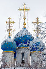 Church of Our Lady of Kazan in Kolomenskoye at Winter, Moscow