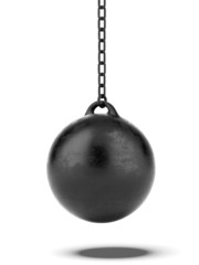 Black Wrecking ball