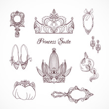 Princess Design-Elemente