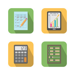 Set of financial business tools