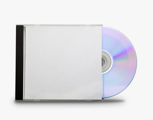 CD in the open box