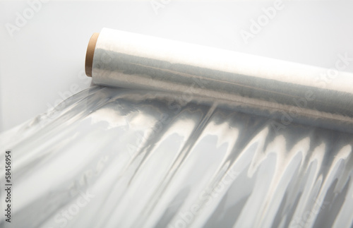 Wrapping plastic stretch film