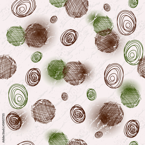 Seamless spotty grungy pattern