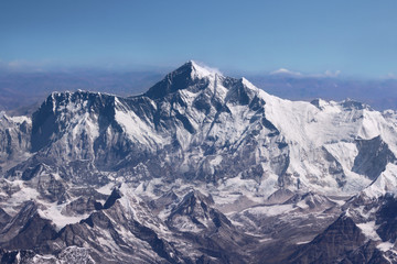 Mount Everest - Top of the World (from aircraft)