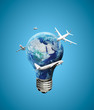 lighbulb earth