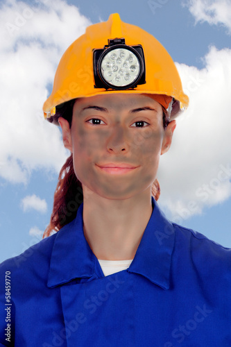 Poster Women working in mining