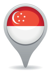 singapore flag pointer