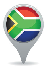 south african flag pointer