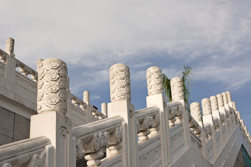 Chinese stairs of National Palace Museum