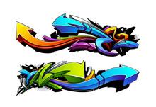 Graffiti flèches dessins