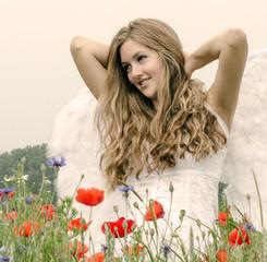 Auszeit: Engel im Sommer