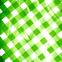 green picnic cloth
