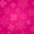 Seamless Pattern with Christmas Snowflakes