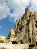 House caves at Cappadocia Turkey