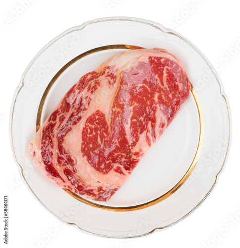 Premium quality ribeye steak