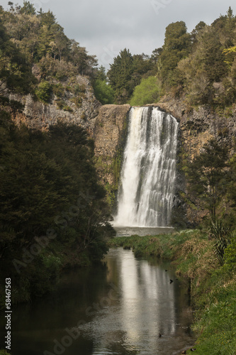 waterfall at Hunua Ranges