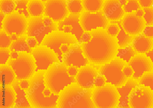 abstract glossy bubbles background