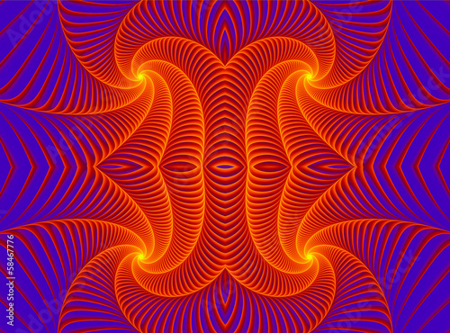 lighting fractal background
