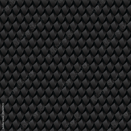 Black abstract texture. Seamless texture.