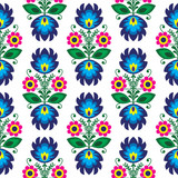 Seamless traditional floral polish pattern - ethnic background - 58469381