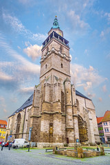 church St. Bonifacius Bad Langensalza germany
