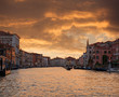 Grand Canal in Venice. Italy.