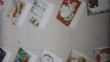 Christmas Cards On The Wall-1961 Vintage 8mm film