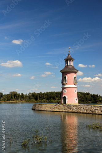 Moritzburg lighthouse