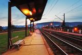 Fototapety Train station in Bratislava