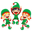 Santa Claus Helpers Dancing
