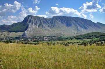 Piatra Secuiului mountain. View from Bedeleu. Rimetea, Romania