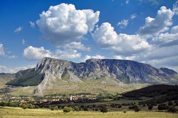Szekelyko limestone mountain, Romania
