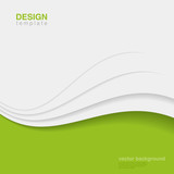Background Eco Abstract Vector. Creative ecology design - 58473952