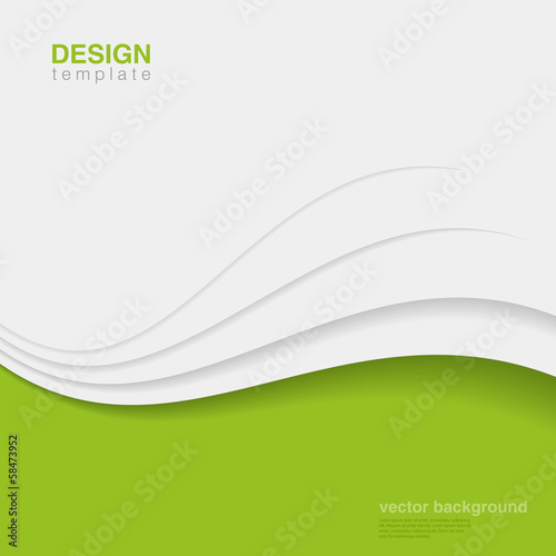 Fototapeta Background Eco Abstract Vector. Creative ecology design